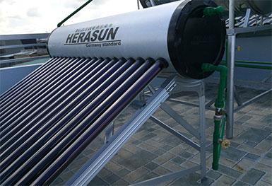 Máy nước nóng Herasun HRS58-12 120 lít (Hình thực tế)