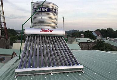 Máy nước nóng SOLAR-30 300 lít (trên mái tôn)